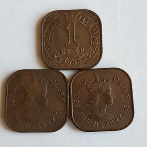 Vintage 1958 & 1956 coins